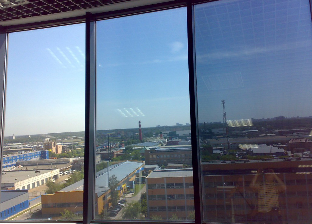 Тонировка окон балконов офисов и фасадов зданий - Челябинск.